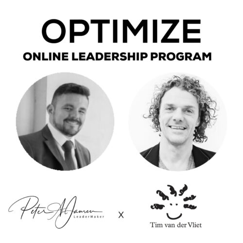 Optimize Online Leadership Program Peter Jansen and Tim van der Vliet