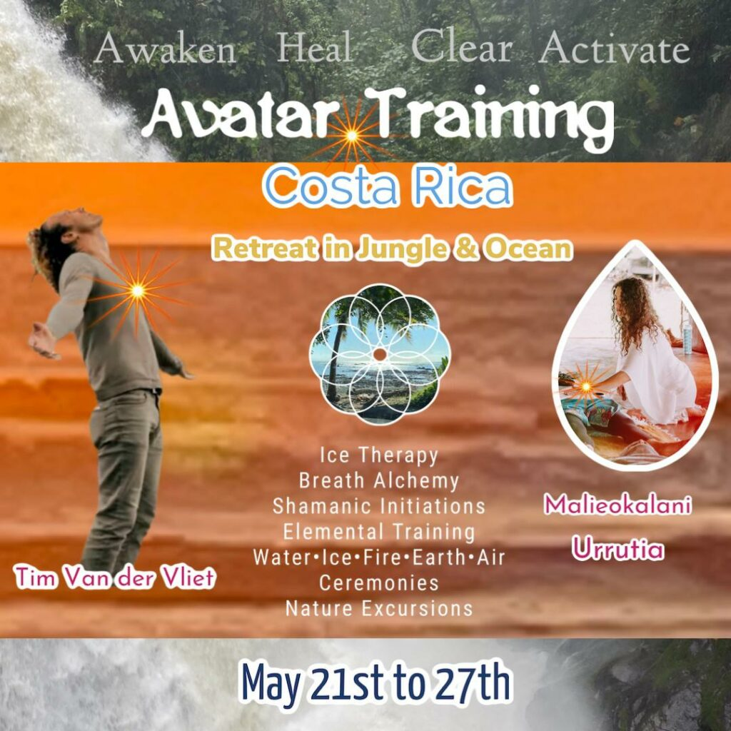 Avatar Training With Malieokalani Urrutia and Tim van der Vliet